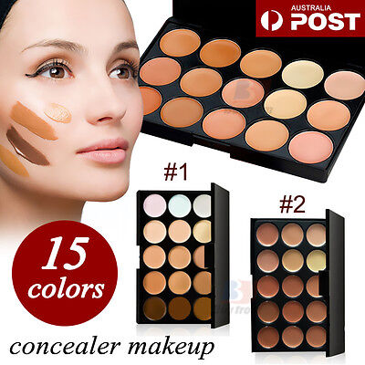 15 Color Contour Cream Concealer Kit Neutral Makeup Contouring Palette Au Stock