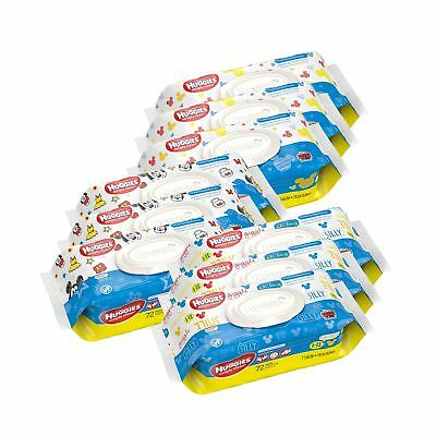 HUGGIES Simply Clean Baby Wipes Scented 648 Count