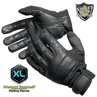 Police Force Tactical SAP Gloves- XLarge New