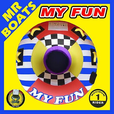 SKI BISCUIT FULLY INCLOSED TUBE ✱ MY FUN ✱ LARGE 54 Inch 137cm QUALITY FREE POST