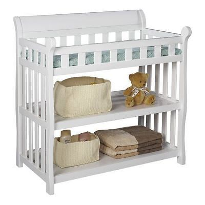 Delta Children Eclipse CHANGING TABLE, Baby NURSERY TABLE, White