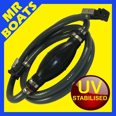 JOHNSON EVINRUDE OMC OUTBOARD FUEL LINE HOSE ✱ UV Stabilised HI-Flow ✱ FREE POST