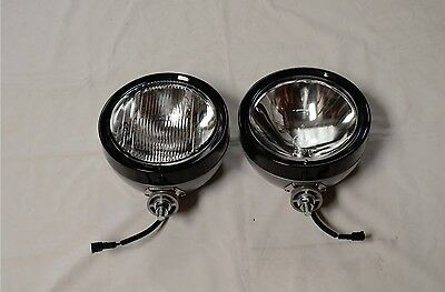 Ipf 900Xs Round 4Wd Spot Driving Flood Lights + Free Clear Covers Brand New