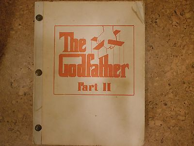 The Godfather Part II production script