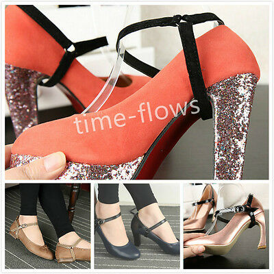 Detachable Leather Shoe Belt Strap Band for holding loose high heeled shoes