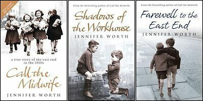 Call The Midwife 3 Book Collection Trilogy By Jennifer Worth Book From TV Series
