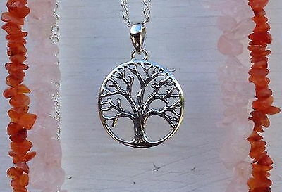 662 tree of life pendant/charm genuine solid 925 sterling silver rrp $39.95