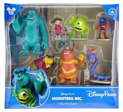 Disney Parks Pixar Monsters Inc Figure Cake Topper Playset New With Box