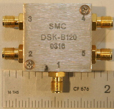 Synergy DSK-B120 Power Divider 1-250 MHz 4-Way 0 Degree