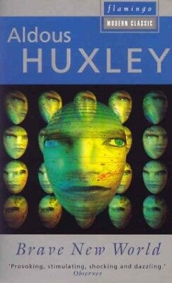 Brave New World, Huxley, Aldous Paperback Book The Cheap Fast Free Post