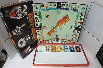 2003 Kiss-Opoly Kiss Themed Board Game Late For The Sky