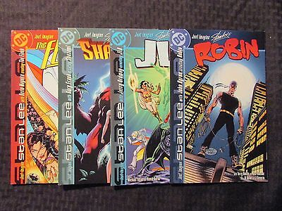 DC Just Imagine Stan Lee's LOT of 4 ROBIN JLA SHAZAM! THE FLASH NM John Byrne