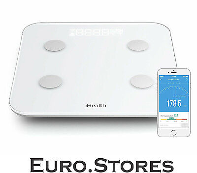 IHealth HS6 Core Wireless Body Composition Scale White Android iOS  GENUINE NEW