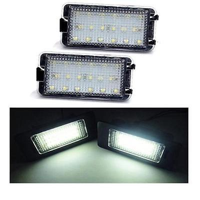 Fits Seat Toledo (04-09) 18 SMD LED Rear License Plate Replacement Light Units