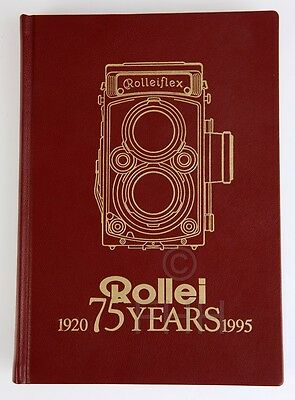Rolleiflex Book Rollei 75 Years (1920 - 1995)  Limited Edition!!!