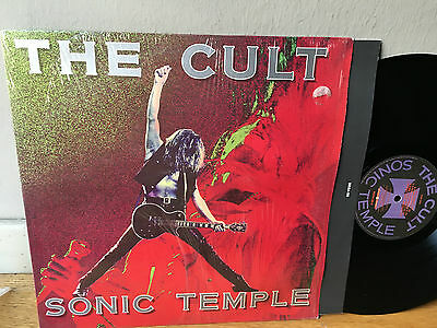 LP ITALY  NM  The Cult – Sonic Temple