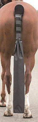 NEW Shires ARMA Black Horse Pony Tail Guard With Detachable Tail Bag Travelling