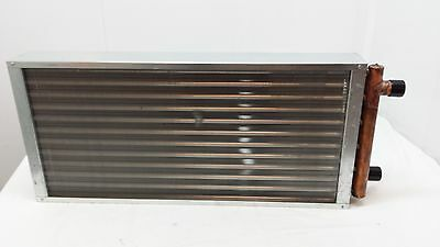 "12x21 Water to Air Heat Exchanger 1"" Copper ports ~~~AMERICAN MADE!"