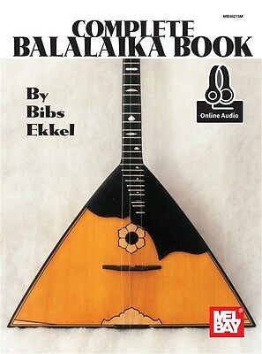 The Complete Balalaika Book (Book/Online Audio) Notenbuch, Downloads