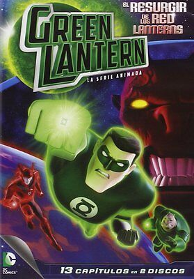GREEN LANTERN: RISE OF THE RED LANTERNS **Dvd R2** The Animated Series (2 Discs)