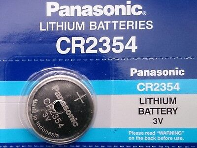 Pila Panasonic CR2354 -  Lithium Battery 3V - POLAR CS600X CS600 CS500 CS400