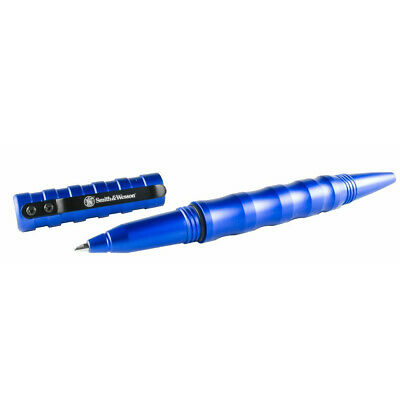 Smith and Wesson Military & Police 2nd Generation Tactical Pen Blue SWPENMP2BL