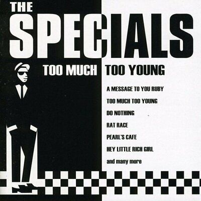 Too Much Too Young -  CD 0OVG The Cheap Fast Free Post The Cheap Fast Free Post