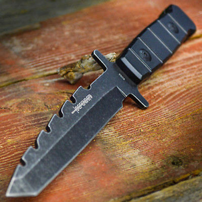 "9"" Hunting Military Survival Combat Fixed Blade Tactical Knife w/ Sheath Bowie"