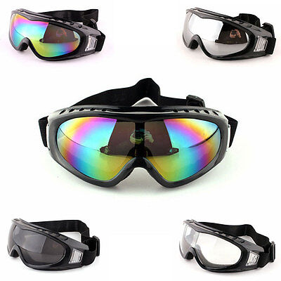 Boys Girls Kids Dust Wind Motorcycle Helmet Goggles Outdoor Riding Sunglasses
