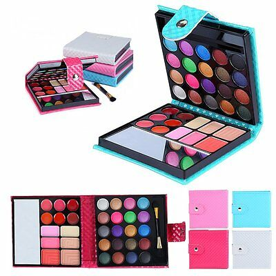 PRO 32 Colors Eye Shadow Cosmetic Makeup Shimmer Matte Eyeshadow Palette Set Kit