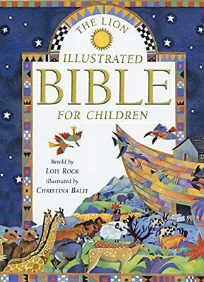 The Lion Illustrated Bible for Children by Rock, Lois Hardback Book The Cheap