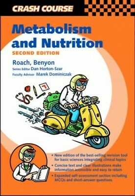 Crash Course:  Metabolism and Nutrition (Cr... by Roach BSc, Jason O'N Paperback