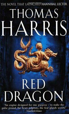 Red Dragon: (Hannibal Lecter) by Harris, Thomas Paperback Book The Cheap Fast