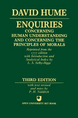 Enquiries Concerning Human Understanding and Concern... by Hume, David Paperback