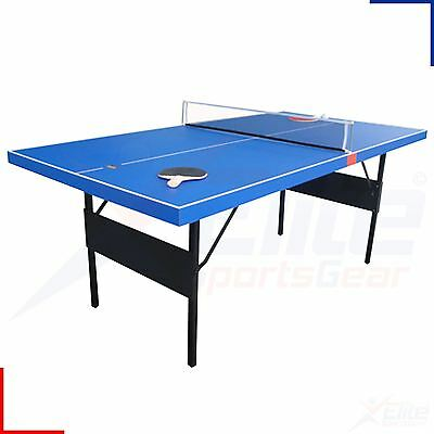 BCE 6FT Table Tennis Table - Nets, Balls & Bats - Folding