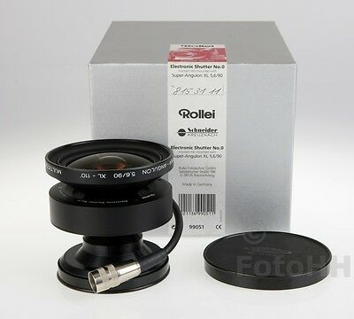 Rollei Super-Angulon Xl 5.6/90Mm Incl. Electronic Shutter No.0 (99051)New In Box