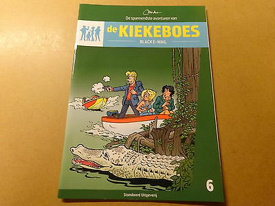 STRIP / DE KIEKEBOES 6 (KIEKEBOE): BLACK E-MAIL | Herdruk 2014