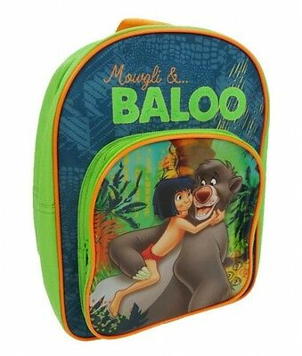 Disney The Jungle Book 'Arch Pocket' School Bag Rucksack Backpack Brand New