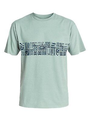 Quiksilver Waterman Collection Good Eats S//S T-Shirt Tee Sz Large