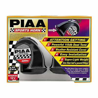 PIAA Dual Horn Dual Tone 400hz/500hz Twin Pack Weather Resistance Cover