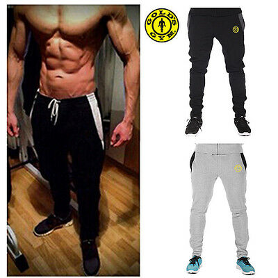 Fashion Mens Gym Fitness Sweats Pants Mens Workout Joggers Gym Wear