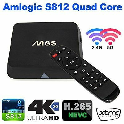 Android Box M8S 4K Tv Box Smart Tv Iptv Quad Core Ram 1Gb Mini Pc Wifi M8