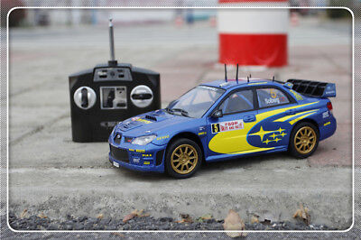 Subaru impreza Digital RC R/C CAR WRX WRC 2006 1:16 silverlit toy model 2WD car