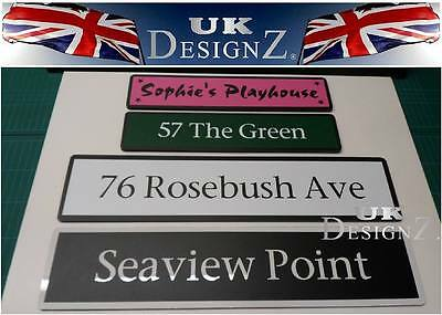 summer house name plate - shed & personalised signs made to order-uk01
