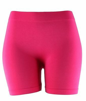 Basic Solid Biker Short Spandex Yoga Leggings 12 inch