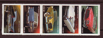 United States 2008 Fins And Chrome Strip Of 5 Unmounted Mint, Mnh.