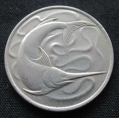 20 Cents Singapore 1979 Swordfish #1152
