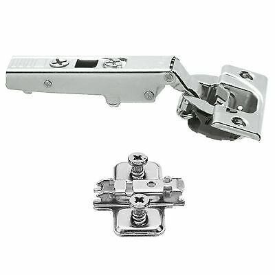12x Clip Top BLUMOTION BLUM 71B3550 Soft Close Screw-On Cabinet Hinge Set 110°