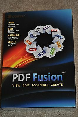Corel Pdf Fusion View/edit/assemble/create Pdf Software Fast  Post