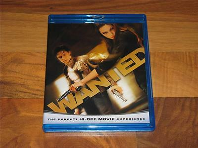 Wanted (Blu-ray Disc, 2008, 1-Disc Set, Blu-Ray Only)